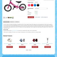 Glide Bikes - Product Page